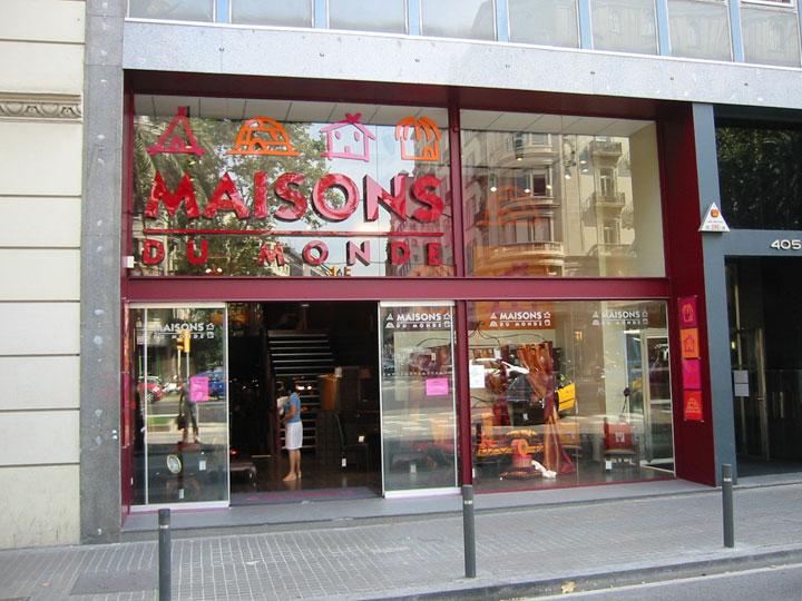 Expansi n shophunters for La maison du monde barcelona
