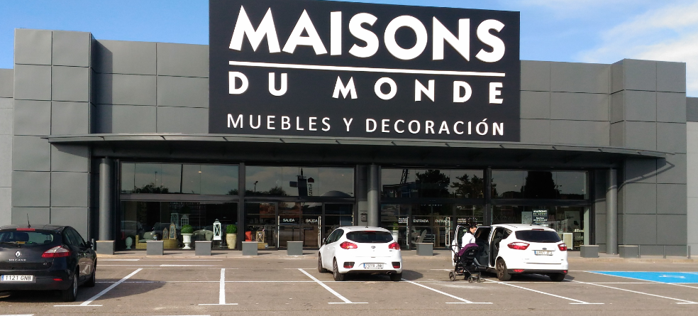 beautiful faana alcal with maison du monde logo. Black Bedroom Furniture Sets. Home Design Ideas